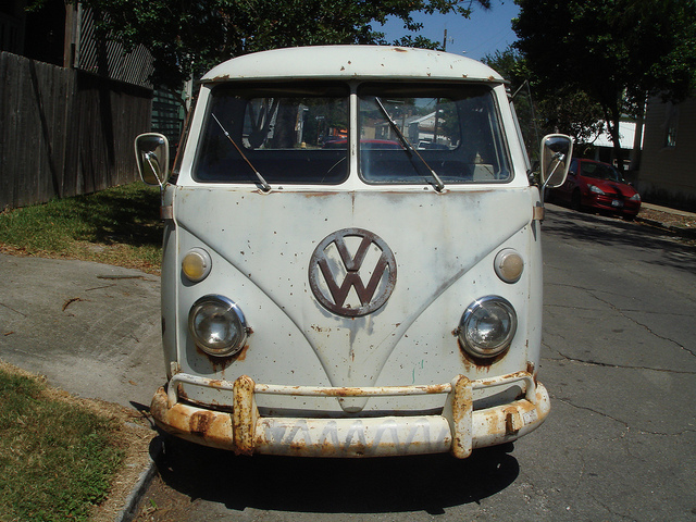 old-vw-van